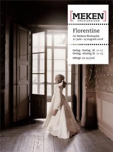 Florentine - Utställningsaffisch, webb