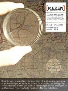Maria Backman, webb